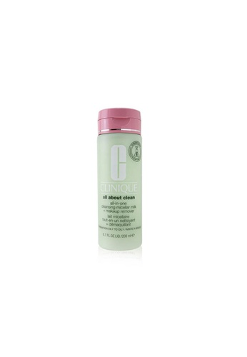 CLINIQUE CLINIQUE - All about Clean All-In-One Cleansing Micellar Milk + Makeup Remover - Combination Oily to Oily 200ml/6.7oz F14BABE0516DBDGS_1