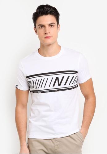 Volkswagen 白色 短袖印花T恤 CE861AAE0E260CGS_1
