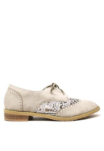 Twenty Eight Shoes beige Sweet Laces Oxford 923-17 BF642SH1C0E0F4GS_1