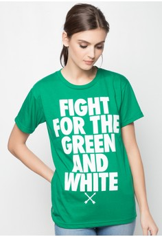 Fight for the Green and White T-Shirt