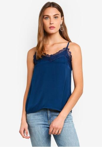 Vero Moda blue Judy Singlet CCE4FAAE2B94C7GS_1