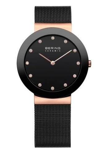 Bering black Ceramic 11435-166 Black 25 mm Women's Watch 693B3ACC1123D2GS_1
