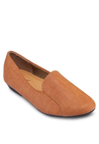簡約樂福鞋,zalora 台灣 女鞋, 船型鞋