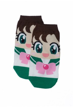 Sunny Sailor Green Socks