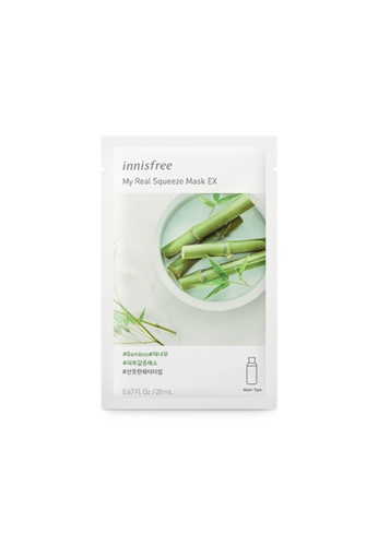 Innisfree My Real Squeeze Mask EX - Bamboo - 10 sheets C3149BE145341DGS_1