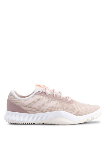 adidas pink adidas performance crazytrain lt sneakers 5B6B2SH8F3F764GS_1