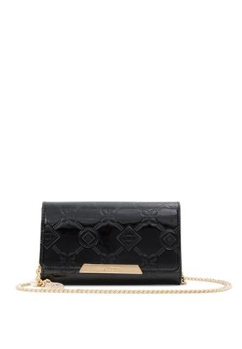 ALDO black Iconic Sleek Wallet On Chain E3EB5ACB260836GS_1