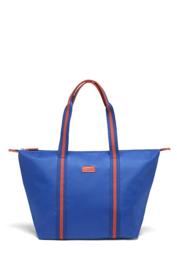 Lipault blue Lipault Lady Plume Tote Bag M BC 0765EACE79D89EGS_1