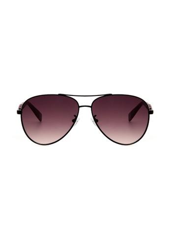Furla Furla SFU050 Black Sunglasses  FU454AC0RAMLMY_1