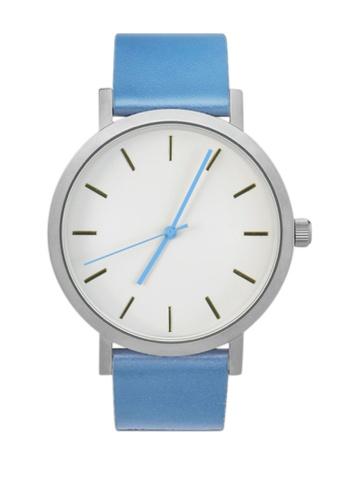 LEUPP blue and silver Bowen Watch TO983AC95JAIPH_1