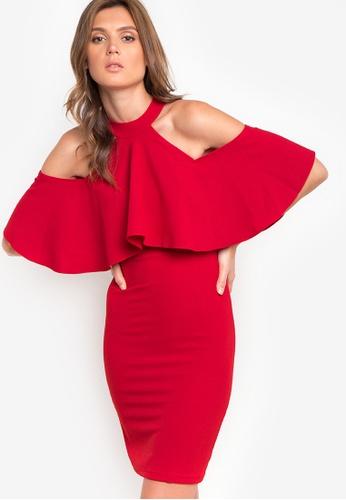 Purple Shore red Sharley Dress PU831AA84VQLPH_1