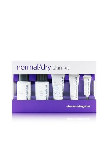 Dermalogica DERMALOGICA - Normal/ Dry Skin Kit: Cleanser + Toner + Smoothing Cream + Exfoliant + Eye Reapir  5pcs. 9FECCBE3E77FE7GS_1