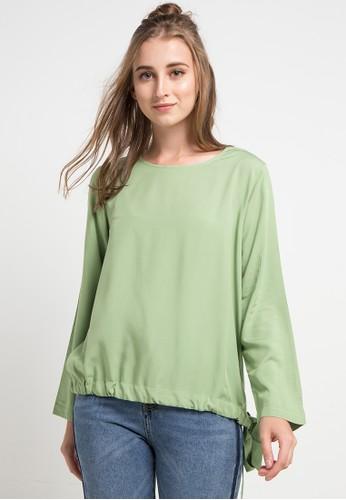 Logo Jeans green Emory Shirt D6428AA3A61182GS_1
