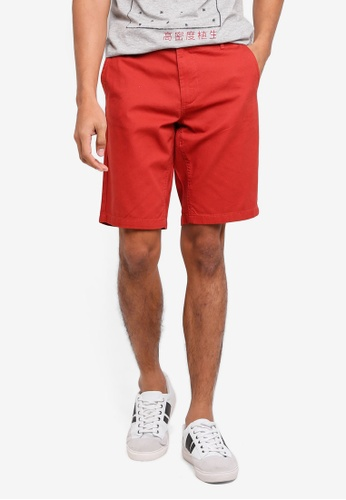 OVS brown Casual Chino Shorts D2AEFAACDAB9A7GS_1