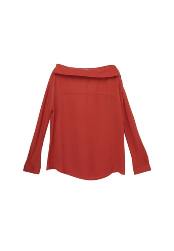 aef0a01c8f3e3 Buy Tokichoi One Shoulder Long Sleeve Top Online