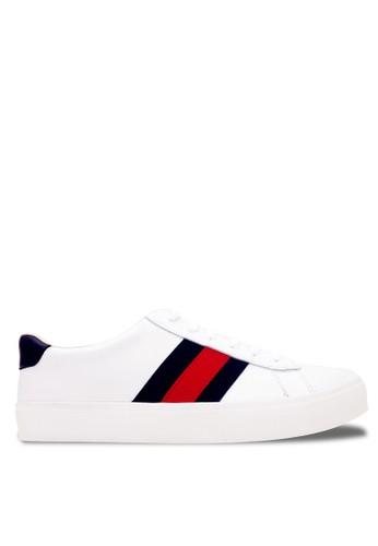 CDE white Cruise Men Sneaker White/Black 05740SH8A450F5GS_1
