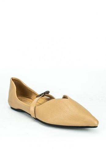 Cardam's Lifestyle beige Xely Flats CA993SH0KNCIPH_1