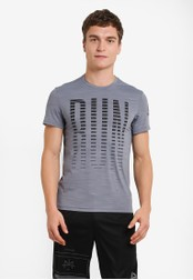 Reebok grey One Series Short Sleeve Activchill Tee RE691AA0RYBPMY_1