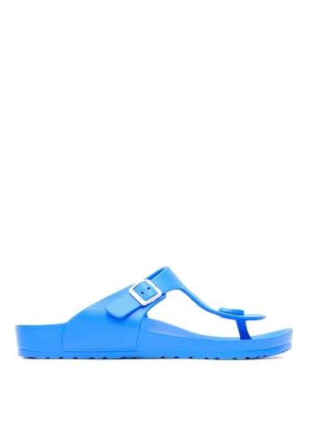 Life8 blue Casual Macaron Series Floating Cooling Flip-Flop-09630-Water Blue LI286SH78AVDMY_1