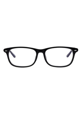 Kyfer's Eyewear & Essentials black Classy Daily Reading Glasses KY376AC34RMRSG_1