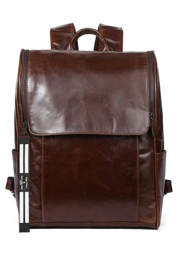 Twenty Eight Shoes Vintage Cow Leather Backpack 6390 B8BD2ACDD5C05AGS_1