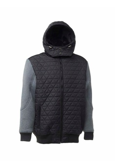 c88f1218a847 Universal Traveller black Men Mixed Fabrication Padded Jacket  C8693AAF7B6B50GS 1
