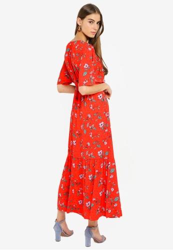 b7c52d5d2c Buy Vero Moda Ava Wide Maxi Dress Online on ZALORA Singapore