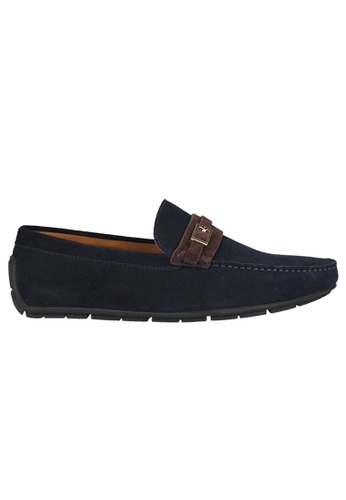 Tomaz blue Tomaz C358 Front Buckled Loafers (Navy) 05608SH08D82AFGS_1