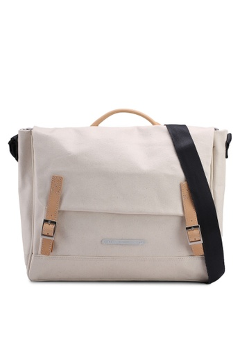 Rawrow white Rugged Canvas 312 R Crossbody Bag 8D936ACB1B81CCGS_1