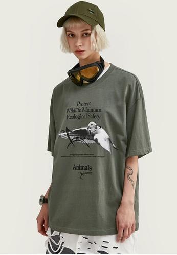 Twenty Eight Shoes Oversize Printed T-Shirts 1022S20 B07F5AAA8E87C2GS_1