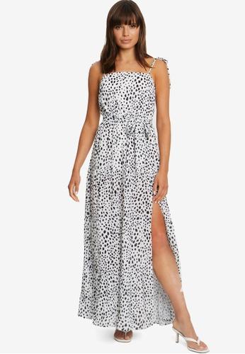 Tussah white Addie Maxi Dress 37C6FAA980E296GS_1