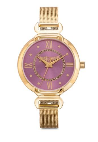 R725352esprit手錶專櫃6501 Hook J 網眼不銹鋼圓錶, 錶類, 飾品配件