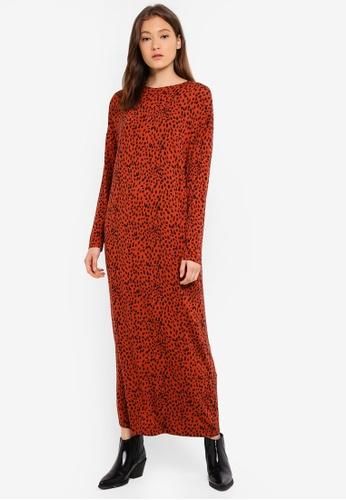 08e787650d9a Buy LC Waikiki Leopard-Patterned Long Dress Online on ZALORA Singapore