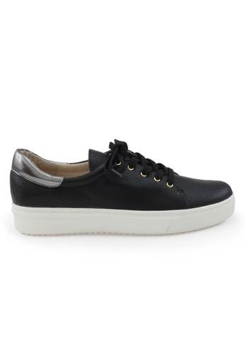 Shu Talk black Causal Chic Sporty Sneakers in Black SH397SH0GFJ8SG_1