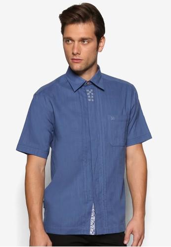 休閒短袖襯衫zalora 手錶 評價, 服飾, 素色襯衫