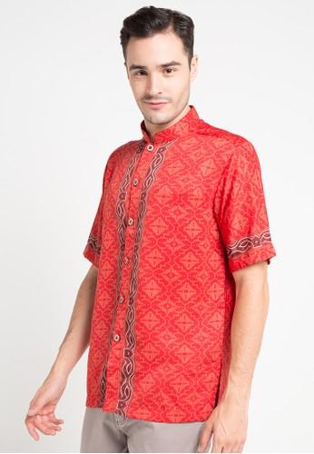 ARJUNA WEDA red Koko Batik Sentadu Kembang AR541AA71FJKID_1