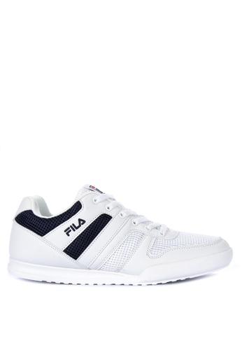 Fila white and multi FC Castro Sneakers 64DFASH0248299GS_1
