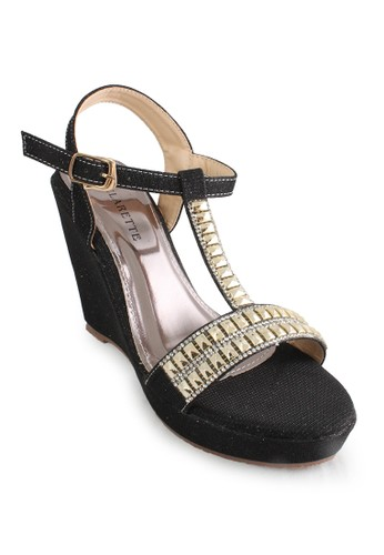 CLARETTE black Clarette Wedges Kasandra Black CL076SH84CNBID_1