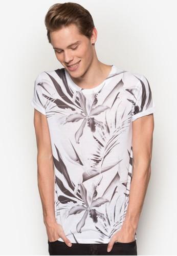 單色印花短袖TEesprit 內衣E, 服飾, 服飾
