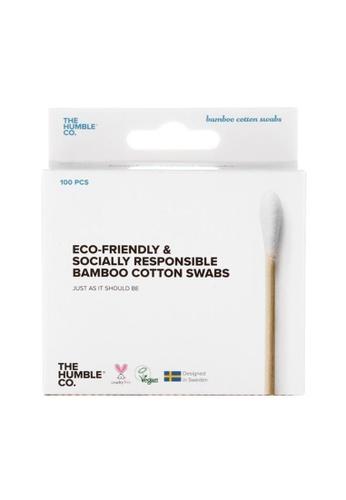 Holland & Barrett Humble Bamboo Cotton Swabs - White 100pcs FA962ESBB57C09GS_1