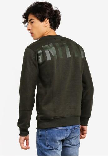 Jack & Jones green Pixel Sweatshirt B8553AA486A0A4GS_1