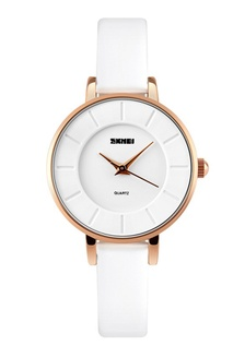 2235d5aa553 SKMEI 1178 Ladies s Fashion Simple Elegant Quartz Leather Watch (White)  SK707AC0RXD9MY 1