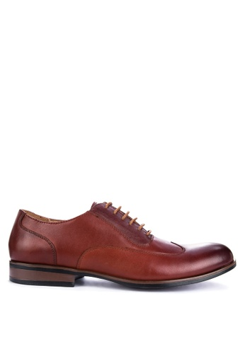 Gibi brown WAX 005 Formal Shoes E7367SH98D7AF8GS_1