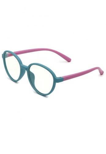 jojo multi Oval Blue Light Filtered Glasses 6BAEBKC349D3B1GS_1