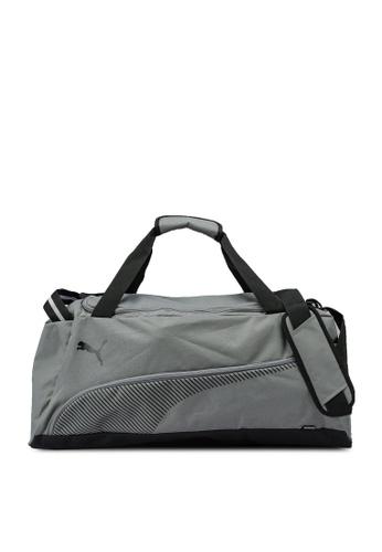 PUMA grey Fundamentals Lifestyle Sports Bag F1362AC18F6FAAGS_1