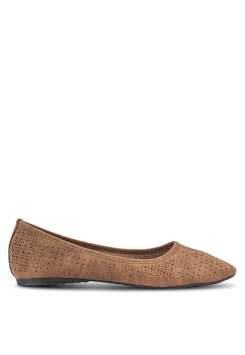 Louis Cuppers brown Casual Flats LO977SH50BDDMY_1