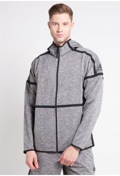 adidas adidas z.n.e. reversible hoodie