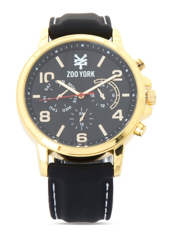 Zoo York black Analog Watch ZO541AC0IT16PH_1
