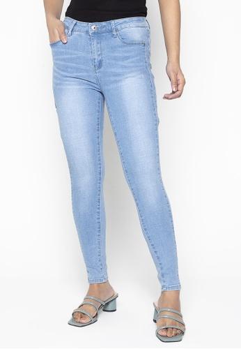 Bossini Ladies grey Skinny Mid Rise Jeans 46B43AA3D3AB5EGS_1
