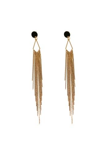 CINDERTOELLA gold Hadley Gold Drop Earrings 23C90AC0EF4E40GS_1